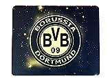 ボルシア・ドルトムント (Dortmund) エンブレム BVBロゴ マウスパッド 【 香川真司(7) 所属 】