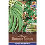 Vegetables Seed Collections - 2 in 1 pack - Runner Beans