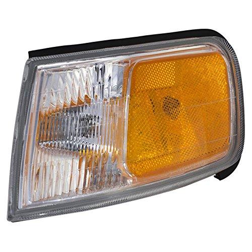 CarPartsDepot 94-97 HONDA ACCORD LX EX DX SE LEFT LH SIDE CORNER SIGNAL LIGHT LAMP NEW 95 96 (96 Honda Accord Lx compare prices)