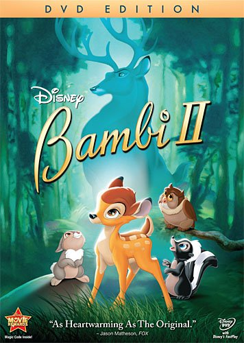 Cover art for  Bambi 2