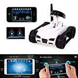 NEW 2016 Mini RC I Spy WIFI Tank Car Video 0.3MP Camera 777-270 WiFi Remote Control By Iphone Android Robot with Camera 4CH APP