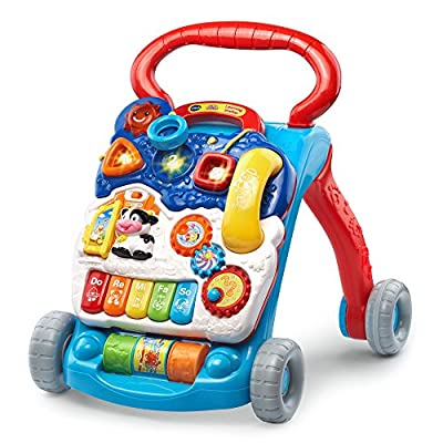 VTech Sit-to-Stand Learning Walker - Blue - Online Exclusive by VTech that we recomend individually.
