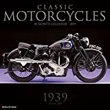 Classic Motorcycles 2019 Wall Calendar