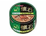 懐石 懐石缶(まぐろ入りささみと牛肉) 80gX6個セット