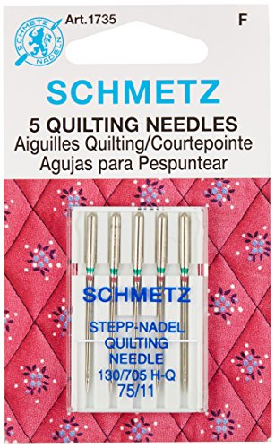 Quilt Machine Needles-Size 11/75 5/Pkg