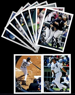2010 Topps Baseball Cards Complete TEAM SET: Chicago White Sox (Series 1 & 2) 19 Cards including Gordon Beckham, Konerko, Quentin, Peavy, Buehrie, Nix, Ramirez, Jenks & more!