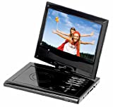 Supersonic SC178DVD 7-Inch Portable DVD Player - Silver