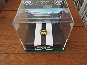 New York Jets 1969 Super Bowl III Championship Ring (Replica) with Display Holder