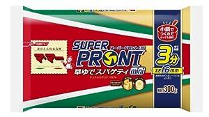 マ・マー スーパープロント早ゆでスパゲティミニ1.6mm 300g×20個