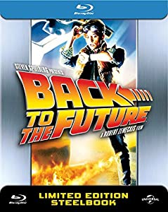 Back to The Future - UK Exclusive Limited Anniversary Edition Steelbook Blu-ray- UK Limited Edition Steelbook Blu-ray 3000 made 30th Aniversary Edition Region free (Release 5th october)