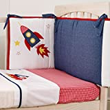 Suncrest Fetch the Engine Boys Cot Fitted Sheet 120 x 60cm