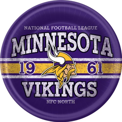 Minnesota Vikings Dinner Plates - 1