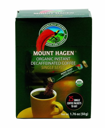 Mount Hagen Organic Instant Decaffeinated Coffee,