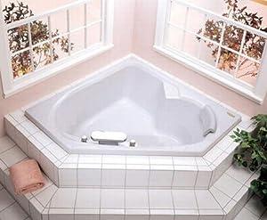 JACUZZI ® N821959 20x60x60 WHITE FIBERGLASS CORNER TUB