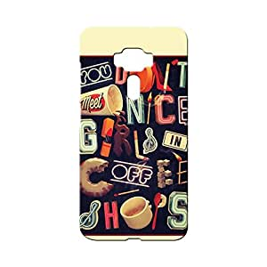 BLUEDIO Designer Printed Back case cover for Asus Zenfone 3 (ZE520KL) 5.2 Inch - G3504