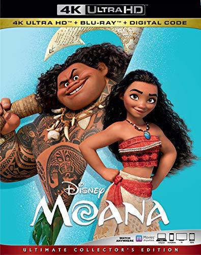 4K Blu-ray : Moana (2 Discos)