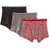 Bjorn Borg Men's Basic Stripe 3 Pack Boxer Shorts