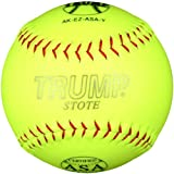 Trump® AK-EZ-ASA-Y AK-EZ Series 12 Inch Synthetic Leather .44 Core ASA Softball (Sold in Dozens)