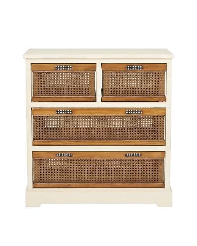 Safavieh Jackson 4-Drawer Storage Unit, White