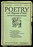 Poetry: A Magazine of Verse August 1930