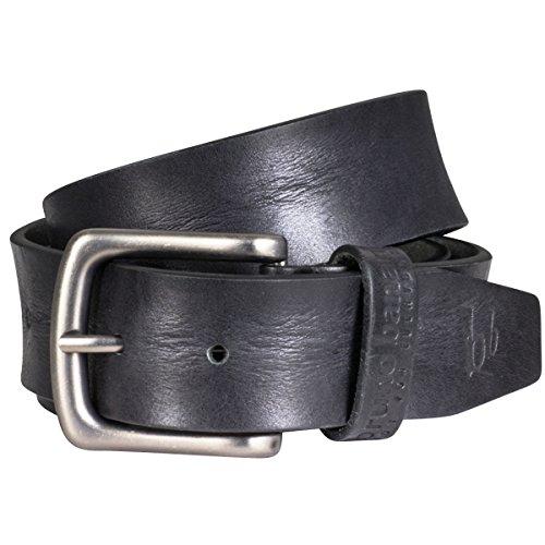 Cintura in pelle uomo/cintura UOMO Bruno Banani, in pelle bovina pieno fiore nero, 30004 nero L