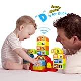 Talking ABC Blocks. Self Learning Audio while Playing with Plastic Blocks