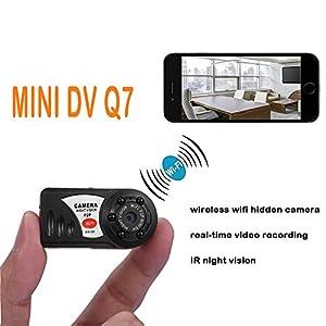 UYIKOO ® Mini Portable P2P WiFi IP Camera Pocket Spy Camera Mini DV DVR WIFI Motion Detection Support iPhone/Android Phone/ iPad /PC Remote View