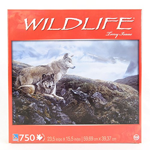 Sure-Lox Widlife 750 pc Puzzle - Above The Timberline By Terry Isaac