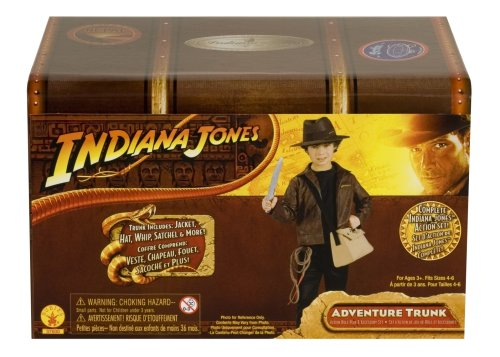 Indiana Jones and the Kingdom of the Crystal Skull Adventure Trunk, Size 4 to 6