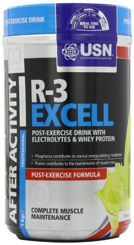 USN Recover Xcell 1000 g Tropical Post-Workout Recovery Drink Powder