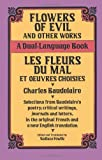 img - for Flowers of Evil and Other Works/Les Fleurs du Mal et Oeuvres Choisies : A Dual-Language Book (Dover Foreign Language Study Guides) (English and French Edition) book / textbook / text book