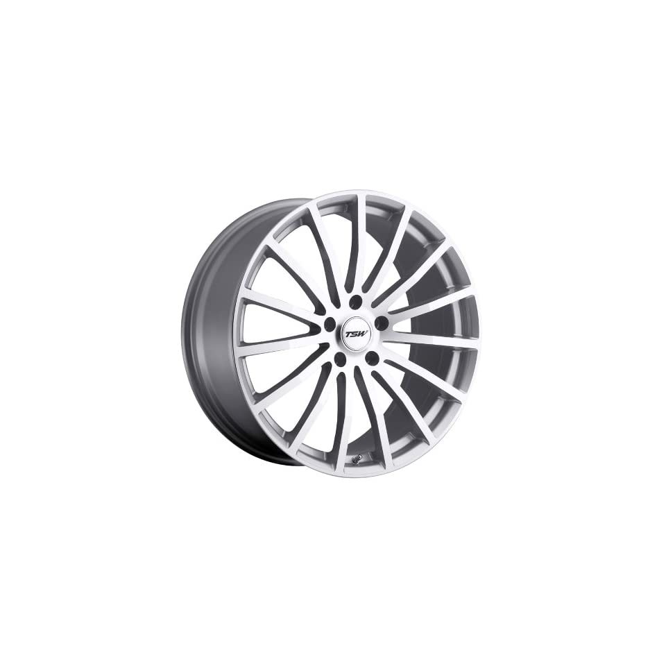 TSW MALLORY Silver Wheel (18x8/5x100mm ,+35mm offset)