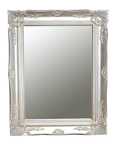 Spiegel-Wandspiegel-Flurspiegel-ISABELLA-antik-silber-Barock-465-x-37-cm