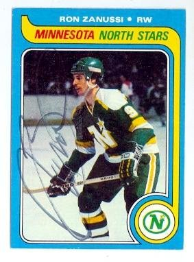 autograph-123615-minnesota-north-stars-1979-topps-no-22-ron-zanussi-autographed-hockey-card