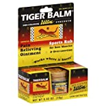 Tiger Balm Pain Relieving Ointment, Non-Staining, Ultra Strength, .63 oz.