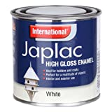INTERNATIONAL JAPLAC HIGH GLOSS ENAMEL 250ML - WHITE