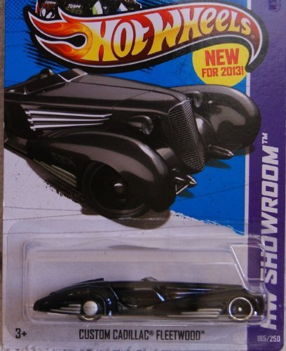Hot Wheels 2013 HW Showroom Custom Cadillac Fleetwood Black 185/250 - 1