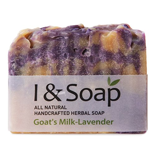 I & Soap, All Natural Handcrafted Herbal Soap (Goat'S Milk-Lavender)