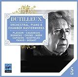 echange, troc  - Dutilleux : Chefs-d'oeuvre pour orchestre, piano et musique de chambre