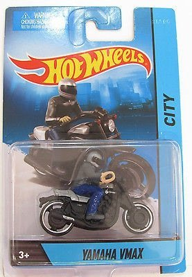 Hot Wheels X2075 Hot WheelsTM Motorcycle With Rider Assorted Styles - 1