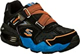 Skechers Boys' Mega Flex Alkali Hazed,Black/Orange,US 5.5 M