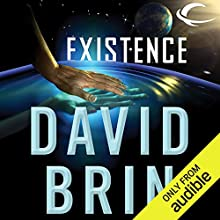 Existence Audiobook by David Brin Narrated by Kevin T. Collins, Robin Miles, L. J. Ganser