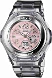 Casio Women's BGA100-8B Baby-G Gem Dial Analog Sport Watch