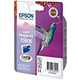 1 Original Printer Ink Cartridge for Epson Stylus Photo PX650 - Light Magenta