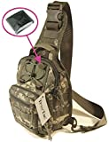 TravTac Small EDC Tactical Sling Pack - Includes Emergency Blanket