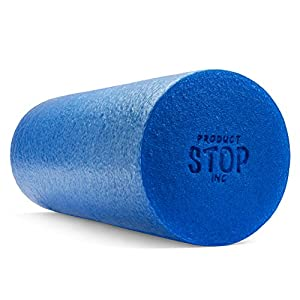 Exercise Foam Roller - Professional Grade, High-Density Incorporates Unique 2 In 1 Trigger-Point Design - Massages, Soothes, Refreshes And Invigorates - Fits Conveniently Inside Your Sports Bag