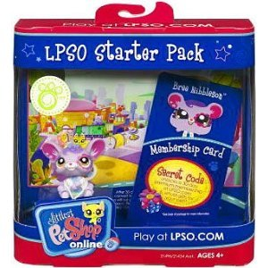Littlest Pet Shop Online LPSO Web Game Starter Pack Bree Nibbleson Mouse