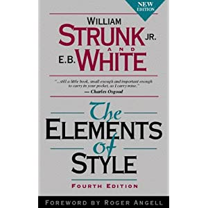 Image: Cover of The Elements of Style