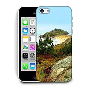 Snoogg Small Grass On Mountain Printed Protective Phone Back Case Cover For Apple Iphone 6 / 6S