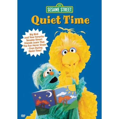 amazoncom sesame street quiet time vhs carlo alban